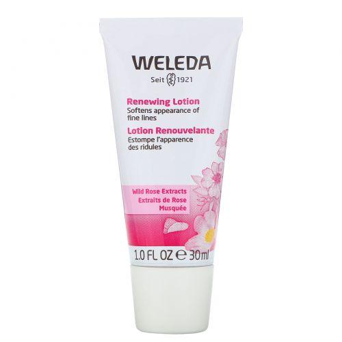 Weleda, Wild Rose, Smoothing Facial Lotion, 1.0 fl oz (30 ml)