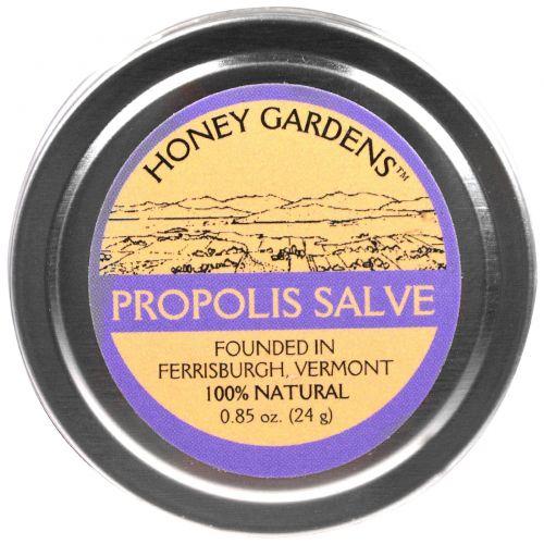 Honey Gardens, Бальзам с прополисом, 24 г