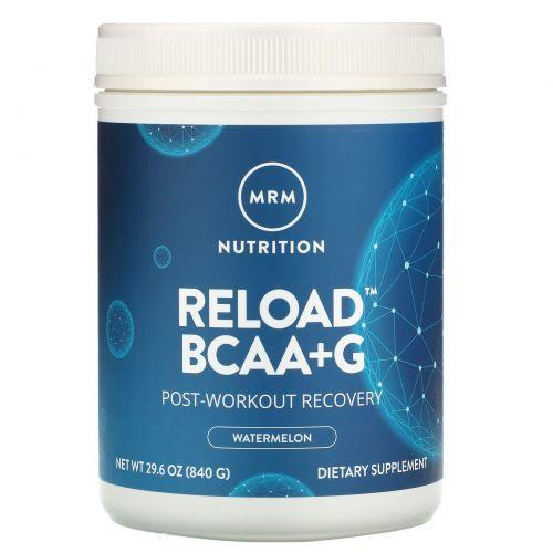 MRM, Reload, оптимизация восстановления мышц, со вкусом арбуза, 29.6 унций (840 г)