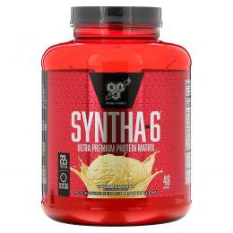 BSN, Syntha-6, Protein Powder Drink Mix, Vanilla Ice Cream, 5.0 lbs (2.27 kg)