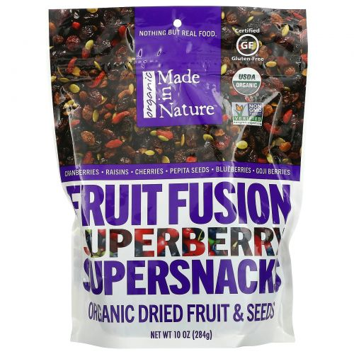 Made in Nature, Organic Super Berry Fusion, 283 г (10 унций)