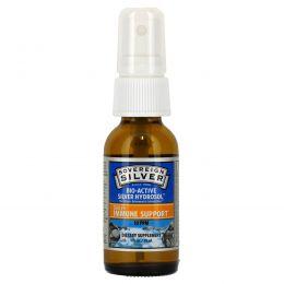 Sovereign Silver, Биоактивный серебряный гидрозоль, для поддержки иммунитета, мелкодисперсный спрей, 10 ч/млн, 1 жидк. унц. (29 мл)