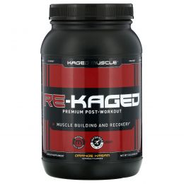 Kaged Muscle, Re-Kaged, протеиновый анаболический стероид, сливки с апельсином, 936 г (2.06 lbs)