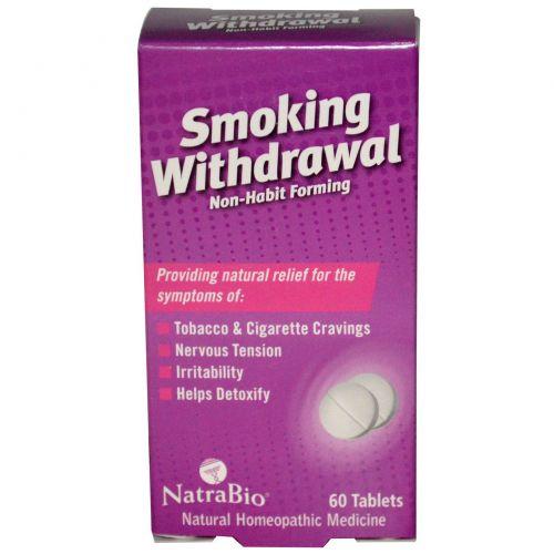 NatraBio, Отказ от курения, 60 таблеток