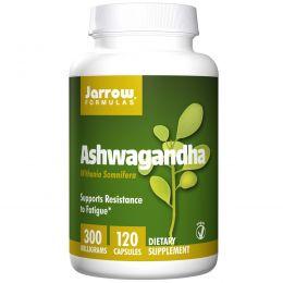 Jarrow Formulas, Ашваганда, 300 мг, 120 растительных капсул