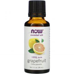 Now Foods, Эфирное масло грейпфрута, 1 жидкая унция (30 мл)