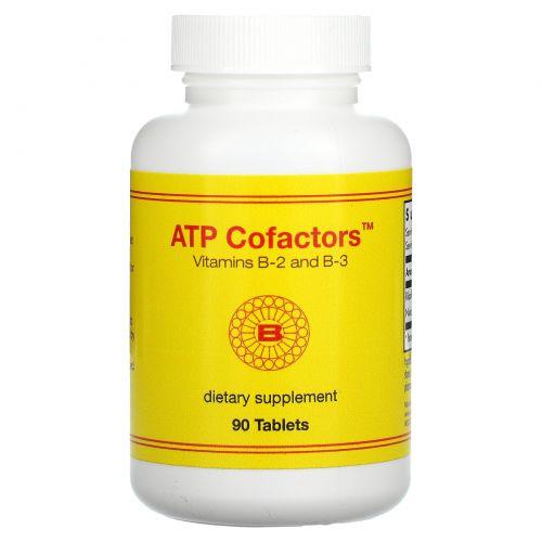 Optimox Corporation, Кофакторы АТФ, 90 таблеток