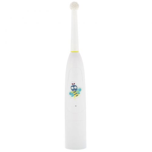 Jack n' Jill, Buzzy Brush, Electric Musical Toothbrush, 1 Electric Toothbrush + 1 Sticker Sheet