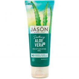 Jason Natural, Чистый натуральный увлажняющий гель с 98% успокаивающего алоэ вера, 4 унции (113 г)