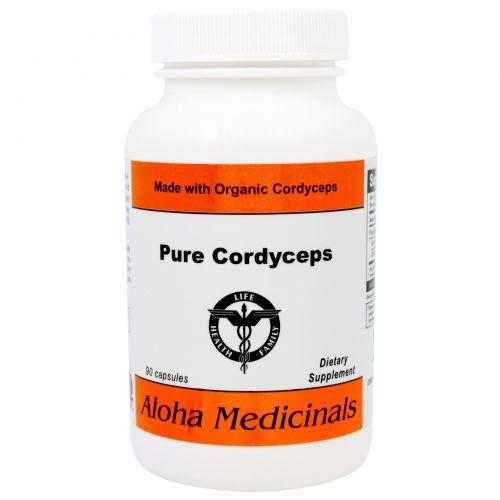 Aloha Medicinals Inc., Чистые кордицепсы, 90 капсул