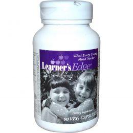Enzymatic Therapy, Learner's Edge, 90 растительных капсул