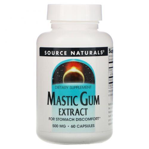 Source Naturals, Экстракт мастиковой смолы, 60 капсул