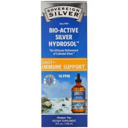 Sovereign Silver, Bio-Active Silver Hydrosol Dropper-Top, 10 PPM, 8 fl oz (236 ml)