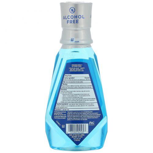 Crest, Pro Health Advanced, Multi-Protection Mouthwash, +Fluoride, Alcohol Free, 16.9 fl oz (500 ml)