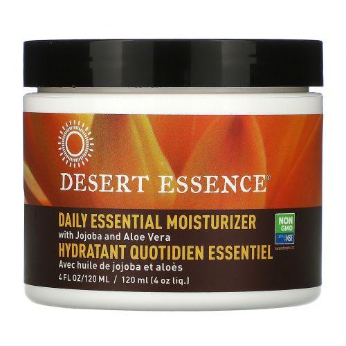 Desert Essence, Увлажняющий крем для ежедневного применения, 4 жидких унции (120 мл)