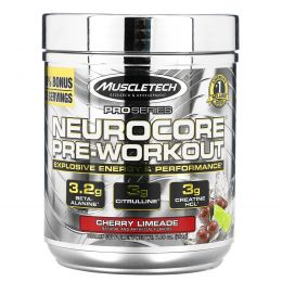 Muscletech, ProSeries, Neurocore, Pre-Workout, Cherry Limeade, 7.19 oz (204 g)