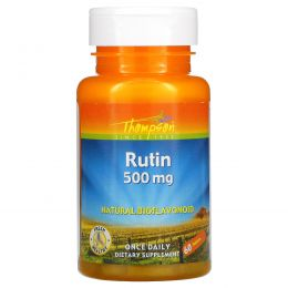 Thompson, Рутин, 500 мг, 60 таблеток