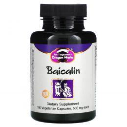 Dragon Herbs, Baicalin, 425 mg, 100 Veggie Caps