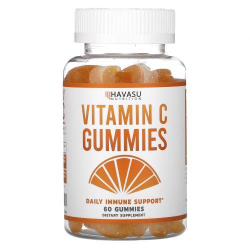 Havasu Nutrition, Vitamin C Gummies, Daily Immune Support,  60 Gummies