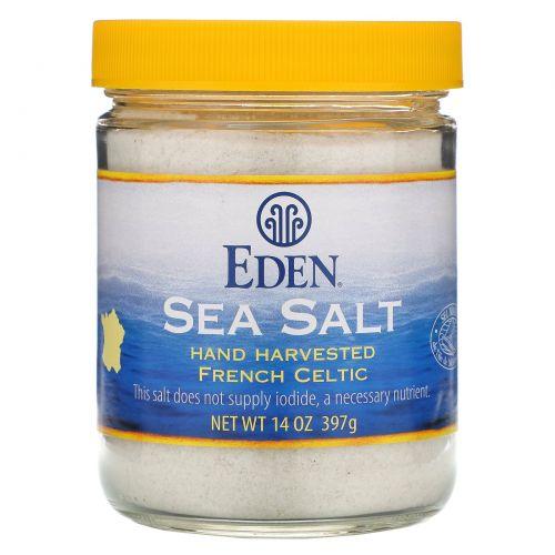 Eden Foods, Морская соль, 14 унций (397 г)