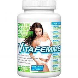 FEMME, Vitafemme, полный комплекс мультивитаминов для женщин, 2 раза в день, 60 таблеток