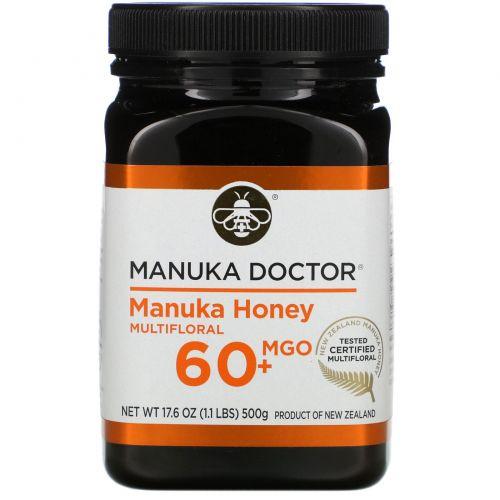Manuka Doctor, 20+ Биоактивный мед Manuka, 1,1 фунта (500 г)