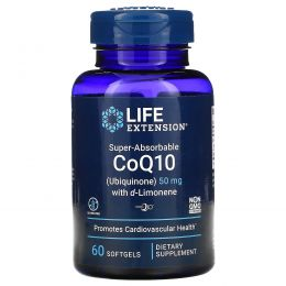 Life Extension, Super-Absorbable, CoQ10, 50 mg, 60 Softgels