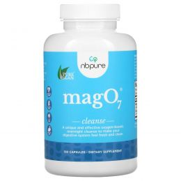 Aerobic Life, Mag O7, Oxygenating Digestive System Cleanser, 180 капсул