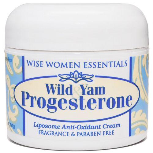 Wise Essentials, Прогестерон с диким ямсом, 2 унции (56,7 г)
