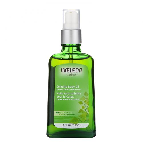 Weleda, Cellulite Body Oil, 3.4 fl oz (100 ml)