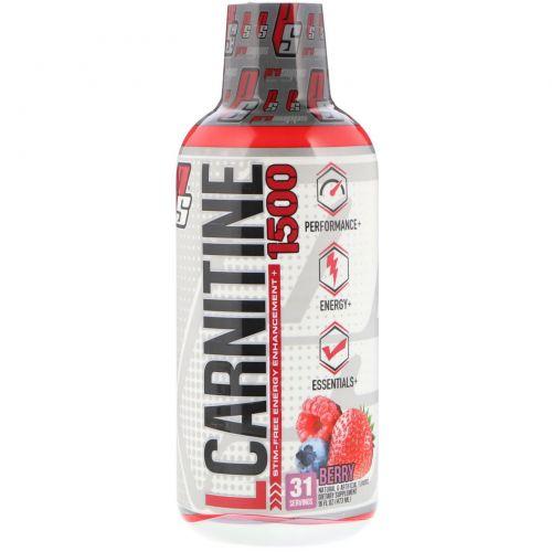 ProSupps, L-Карнитин 1500, ягодный вкус, 473 мл