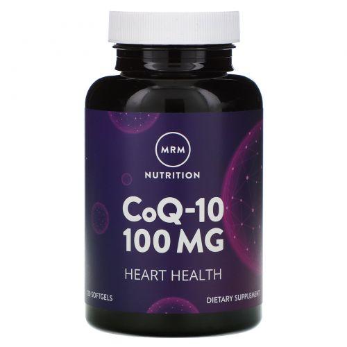 MRM, Коэнзим Q-10, 100 мг, 120 желатиновых капсул