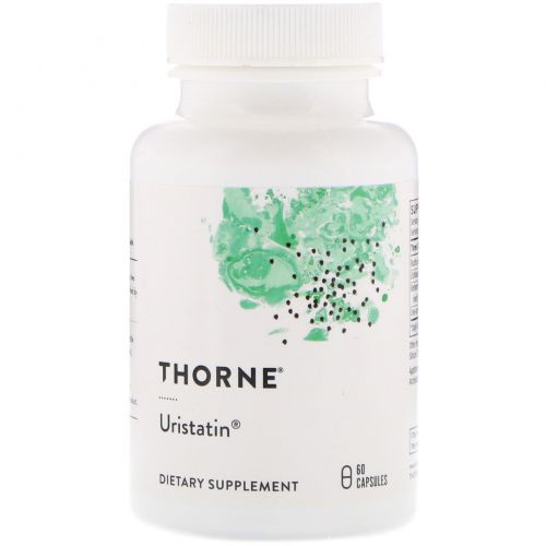 Thorne Research, Уристатин, 60 вегетарианских капсул