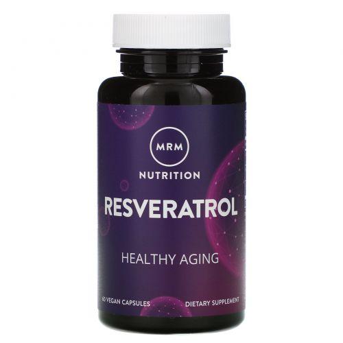 MRM, Resveratrol, 60 Vegan Capsules