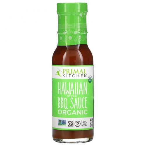Primal Kitchen, Organic, Hawaiian Style BBQ Sauce, 8.5 oz (241 g)