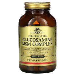 Solgar, Глюкозамин МСМ, комплекс, 120 таблеток