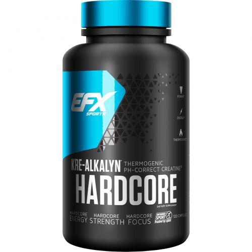 All American EFX, Kre-Alkalyn Hardcore, 120 капсул