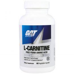 GAT, L-карнитин, 60 капсул в растительной оболочке
