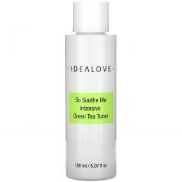 Idealove, So Soothe Me, интенсивный тоник с зеленым чаем, 150мл (5,07жидк. унции)