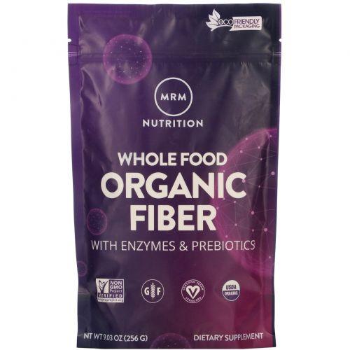 MRM, Цельнопищевое пищевое волокно с ферментами и пробиотиками, без запаха, 9,3 унц. (256 г)
