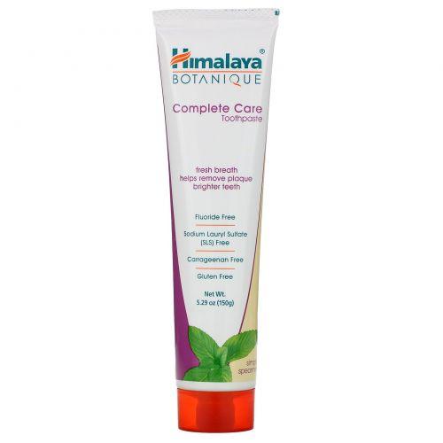 Himalaya Herbal Healthcare, Зубная паста для комплексного ухода за полостью рта, Simply Spearmint, 5,29 унции (150 г)