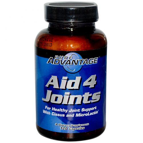 Pure Advantage, Aid 4 Joints 120 капсул