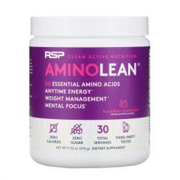 RSP Nutrition, Энергетическая формула Amino Lean, черника и гранат, 8,25 унц. (234 г)