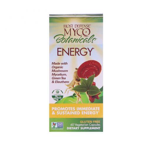 Fungi Perfecti, MycoBotanicals, Energy , 60 Vegetarian Capsules