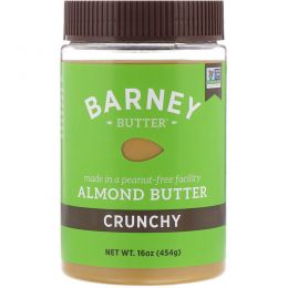 Barney Butter, Миндальное масло, хрустящее, 16 унций (454 г)