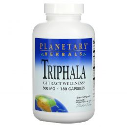 Planetary Herbals, Трифала, 500 мг, 180 капсул