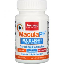 Jarrow Formulas, Факторы защиты макулы, 30 мягких таблеток