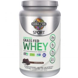 Garden of Life, Sport, Certified Grass Fed Whey, Refuel, Chocolate, 23.7 oz (672 g)