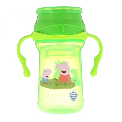 Playtex Baby, 360° Cup, Spoutless, Peppa Pig, 9+ Months, 10 oz (296 ml)