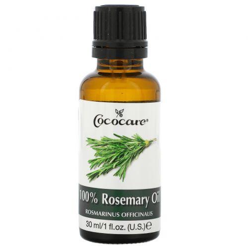 Cococare, 100% масло розмарина, 1 жидкая унция (30 мл)